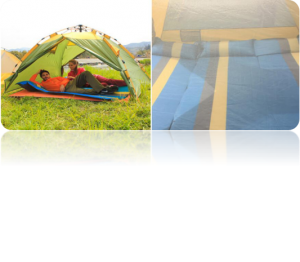 Four-sided ventilation screen family tent