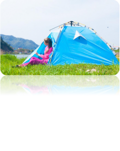 Outer layer design camping tent