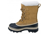 Ladies Rubber Sole Leather Waterproof Snow Boots