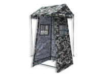 Outdoor Disaster Relief Emergency Sentry Tent Camouflage Oxford Cloth Sunshade Tent