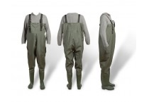 Men's Waterproof Fly Fishing PVC Chest Waders