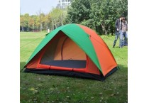 2 persons double layers double doors tent