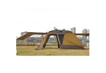 5 Persons Double Wind Resistant Breathable Waterproof   Cabin Tent