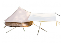 5M Outdoor Camping Indian Cotton Tent Wild Luxury Bell Tent