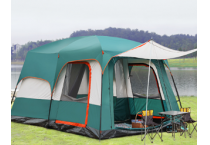 8 people Family Camping Tent 2 rooms 1 drawing room