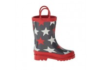 Kids Star Wellington Rubber Rain Boots