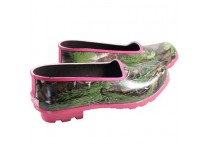 Laides Camo Rubber Garden Shoes