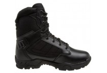 Men's Black Genuine Leather Combat Tactical Military Boots