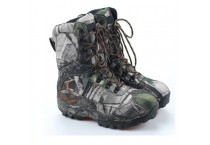 Patent Camo Hiking Hunting Military Boots