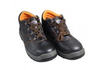 Steel Toe Industrial Safety Boots high cut leather safety shoe