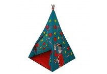 Children's Indoor Toy Play Tent Foldable Assembly Indian Teepee Tent