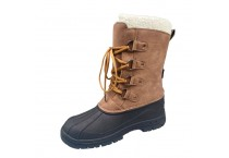 Fashion Trend leather men Winter Snow Boots