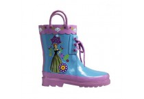 Frozen Anna Rubber Rain Boots For Girls