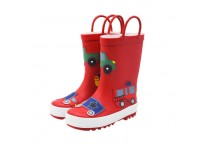 Hot Sale Kids Rain Boots with Portable Handle Rubber Boots for Children Manufacturer