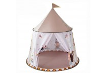 kids canvas toy  cotton  house foldable  teepee   play tent indoor
