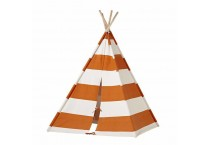 Kids Cotton Protable Canvas Teepee Play Tent