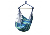 Kids Hanging Swing Cotton Canvas Hammock Camping Chair Tent