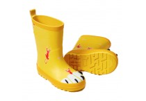 Kids rubber boots with printing