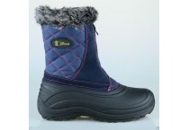 Men's Faux Fur Zippered Winter Snow Boots