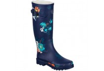 New Style Western Printed Rubber Rain Boots