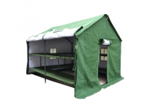 Outdoor Construction Removable Cold Proof Disaster Relief Tents