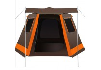 outdoor Fully Automatic Portable Tent Waterproof Sunsade Family Bell Tent