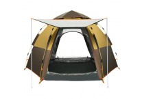 Outdoor Hunting Tent Double Layer Automatic Tent Waterproof Hiking Family Camping Tent