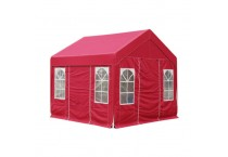 Outdoor Stall With Four Corner Umbrella Canopy Awning Winter Warm Tents