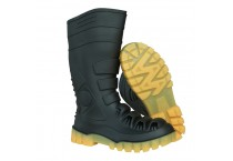 Steel Toe PVC Industrial Safety Boots S5