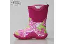 Wholesale Stock Cheap Girls Neoprene Muck Boots