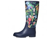 Womens Fashion Rubber Waterproof Riding boots