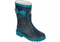 Women's Half Fashion Waterproof Rubber Boots